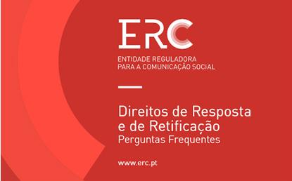 Nova publicação ERC