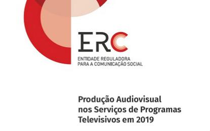 Relatório Produção Audiovisual nos Serviços de Programas Televisivos 2019