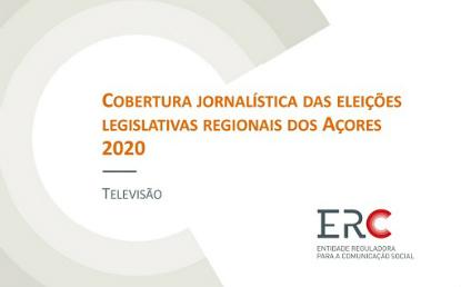 COBERTURA JORNALÍSTICA ELEIÇÕES REGIONAIS AÇORES 2020