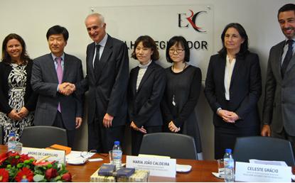 Regulador coreano visita a ERC