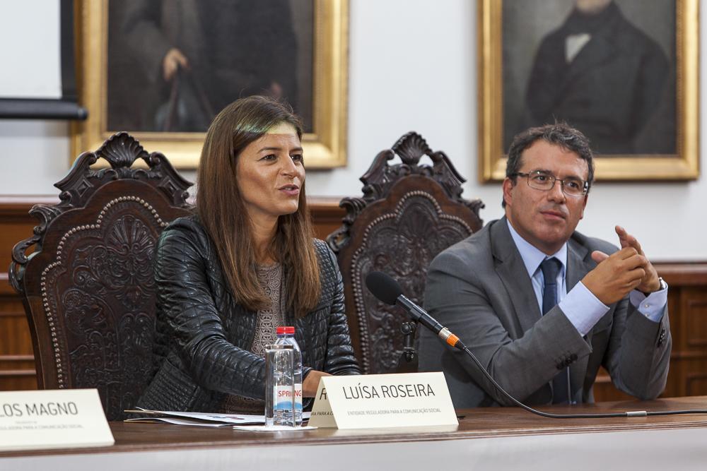 Sessão I – Cenários para a Comunicação Social/ Apresentação do Estudo por Gustavo Cardoso, Professor e Investigador do ISCTE-IUL. Moderação: Luísa Roseira, Vogal da Entidade Reguladora para a Comunicação Social.