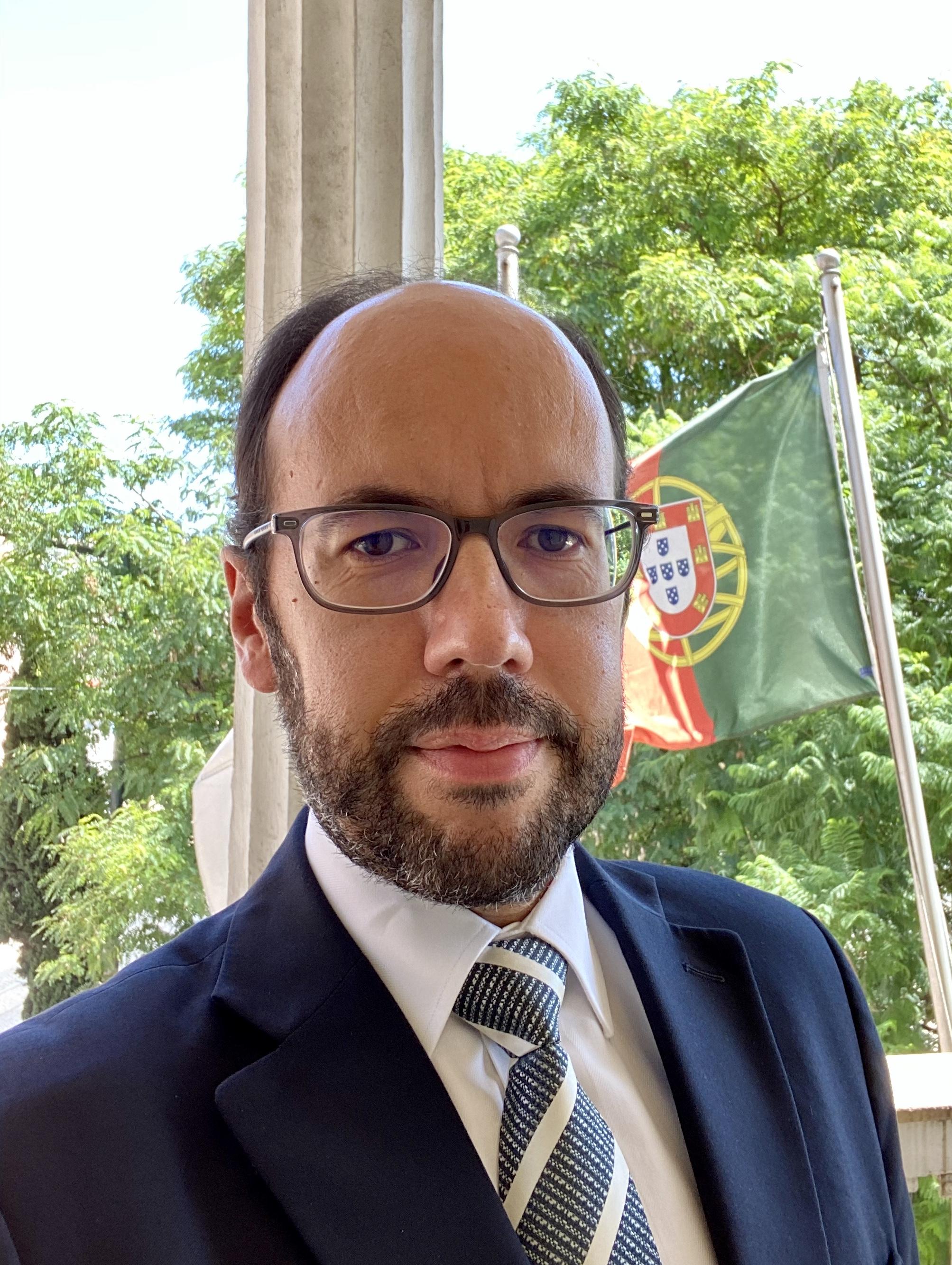 Diretor Executivo da ERC, Dr. Pedro Correia Gonçalves